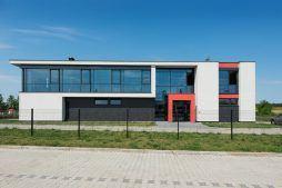 fasada frontowa - hala produkcyjna, dla Ferrum-Profil System, Częstochowa, woj. śląskie