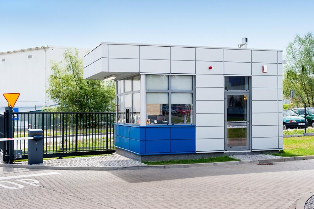 stróżówka - hala magazynowa z budynkiem biurowym, dla Hurtap SA, Głogów, woj. dolnośląskie
