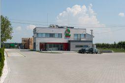 widok ogólny - sortownia i przechowalnia owoców z częścią biurową, dla Gaik, Witalówka