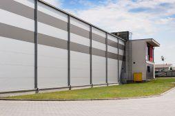 ściana boczna 2 - hala produkcyjna, dla Ferrum-Profil System, Częstochowa, woj. śląskie