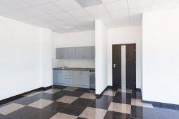 wnętrze części biurowej 1 - hala produkcyjna z częścią biurową, dla Protech, woj. śląskie