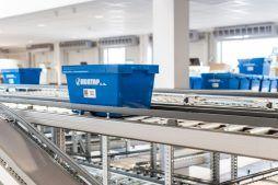 fragment linii produkcyjnej 2 - hala magazynowa z budynkiem biurowym, dla Hurtap SA, Głogów