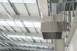 wnętrze hali - hala magazynowa z budynkiem biurowym, dla Tech-Met, Kolonia Sokolniki