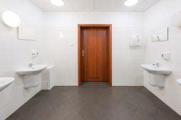 pomieszczenie sanitarne - hala produkcyjna, dla Wiefferink, Wykroty, woj. dolnośląskie