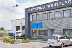 fragment elewacji frontowej - hala produkcyjna z budynkiem biurowym, dla Irmark, Warszawa