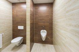 pomieszczenie sanitarne 1 - hala magazynowa z budynkiem biurowym, dla Tech-Met, Kolonia Sokolniki