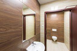 pomieszczenie sanitarne 2 - hala magazynowa z budynkiem biurowym, dla Tech-Met, Kolonia Sokolniki
