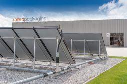 kolektory solarne - hala produkcyjna z budynkiem biurowym, dla Uniservice, Skarbimierz, woj. Opolskie
