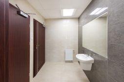pomieszczenie sanitarne 4 - hala magazynowa z budynkiem biurowym, dla Tech-Met, Kolonia Sokolniki