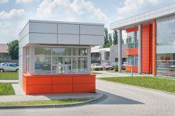 portiernia 1 - hala produkcyjno-magazynowa z budynkiem biurowym, dla Viva Plus, Bytom, woj. śląskie