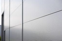blacha elewacyjna - hala produkcyjna, dla Cornette, Sieradz, woj. łódzkie
