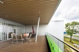 taras - hala magazynowa z budynkiem biurowym, dla Sun Garden Poland, Malanów
