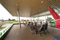taras 1 - hala magazynowa z budynkiem biurowym, dla Sun Garden Poland, Malanów