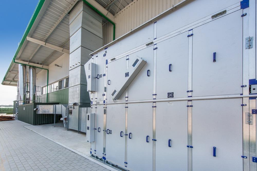zaplecze technologiczne 1 - hala produkcyjna z częścią biurową, dla Markos, Słupsk, woj. pomorskie