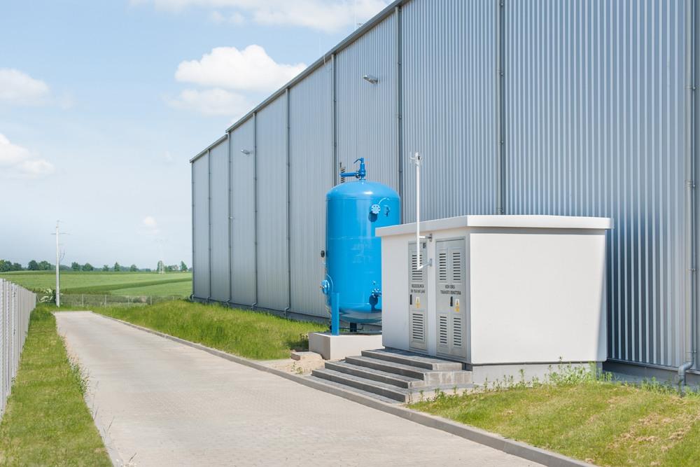 stacja transformatorowa - hala produkcyjna z częścią biurową, dla Pritip, Puławy, woj. lubelskie