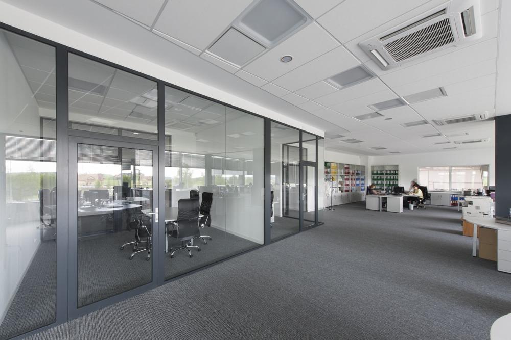 wnętrze biurowe - hala produkcyjna z budynkiem biurowym, dla Adams, Mrągowo, woj. warmińsko-mazurskie