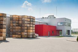 część biurowa 1 - sortownia i przechowalnia owoców z częścią biurową, dla Gaik, Witalówka