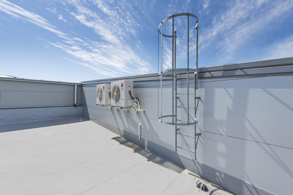klimatyzatory - hala produkcyjna z częścią biurową, dla Leann Stańczyk, Słupsk, woj. pomorskie