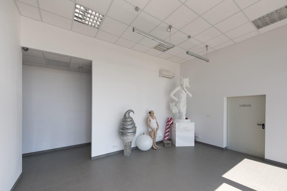 wnętrze - budynek socjalno-biurowy, firma Van Den Block, Lublew Gdański, woj. pomorskie
