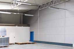 pomieszczenie techniczne - hala produkcyjna, dla firmy Meblomaster, Węgrów, woj. mazowieckie