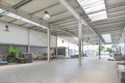 wnętrze 5 - hala produkcyjna, dla Auto-Hak, Słupsk, woj. pomorskie