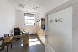 pomieszczenie biurowe - budynek socjalno-biurowy, firma Van Den Block, Lublew Gdański, woj. pomorskie