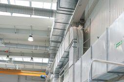 kanały technologiczne 1 - hala produkcyjna z częścią biurową, dla Markos, Słupsk, woj. pomorskie