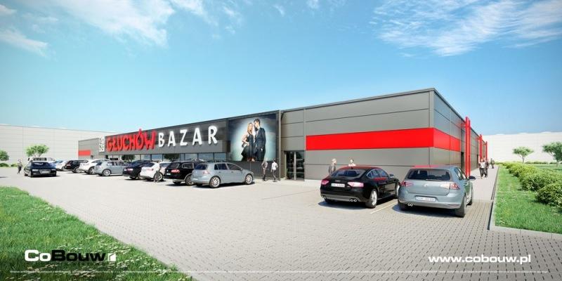 Centrum handlowe Bazar Głuchów
