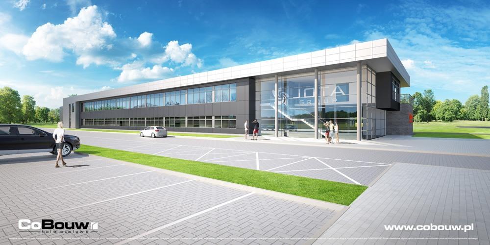 Budowa dla firmy Jota Group Sp.zo.o.