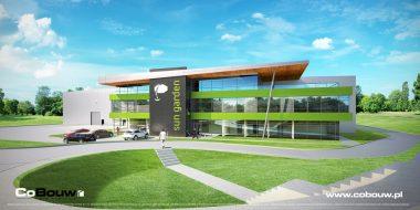 Realizacja budynku biurowego dla Sun Garden Poland