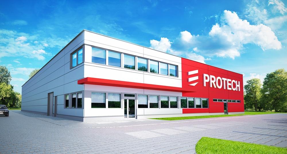 Realizacja inwestycji dla firmy Protech sp.zo.o.