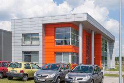 widok ogólny 5 - hala produkcyjno-magazynowa z budynkiem biurowym, dla Viva Plus, Bytom, woj. śląskie