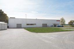 elewacja frontowa - hala produkcyjna, dla Rotox, Pokój, woj. opolskie