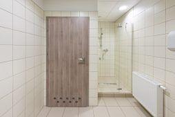 pomieszczenie sanitarne 1 - hala produkcyjna z częścią socjalną, dla Marva International, Poznań, woj. wielkopolskie