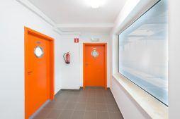 drzwi - hala produkcyjna z częścią biurową, dla Markos, Słupsk, woj. pomorskie
