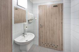 pomieszczenie sanitarne 2 - hala produkcyjna z częścią socjalną, dla Marva International, Poznań, woj. wielkopolskie