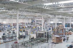 wnętrze obiektu - hala produkcyjna z budynkiem biurowym, dla Adams, Mrągowo, woj. warmińsko-mazurskie