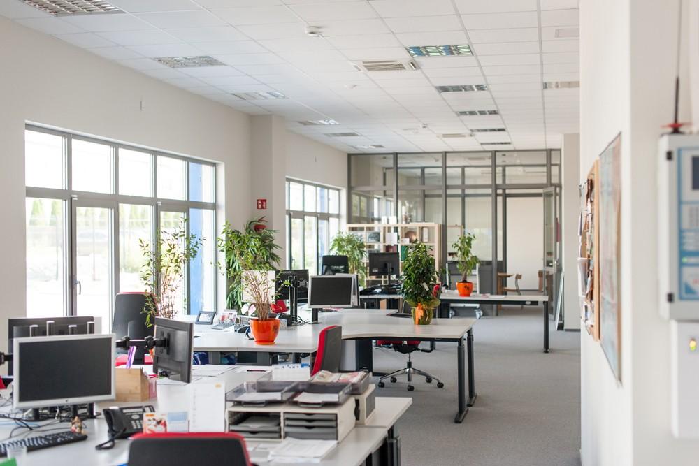 pomieszczenie biurowe 1 - hala handlowa, dla Koopman International, Komorniki, woj. wielkopolskie