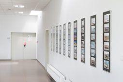 korytarz - hala produkcyjna z budynkiem biurowym, dla Uniservice, Skarbimierz, woj. Opolskie