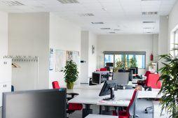 pomieszczenie biurowe 4 - hala handlowa, dla Koopman International, Komorniki, woj. wielkopolskie