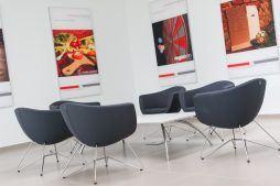 miejsce do siedzenia - hala produkcyjna z budynkiem biurowym, dla Uniservice, Skarbimierz, woj. Opolskie