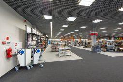 pomieszczenie handlowe 4 - hala handlowa, dla Koopman International, Komorniki, woj. wielkopolskie