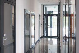 korytarz 2 - hala produkcyjna z budynkiem biurowym, dla Adams, Mrągowo, woj. warmińsko-mazurskie