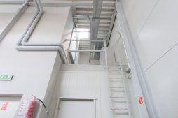 zaplecze techniczne - hala produkcyjna z budynkiem biurowym, dla Meblomaster, Węgrów, woj. mazowieckie