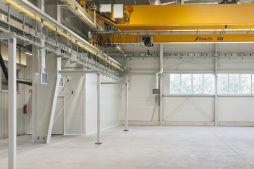 wnętrze hali - hala produkcyjna, dla Rotox, Pokój, woj. opolskie