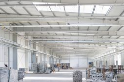 składowanie materiałów - hala produkcyjna z częścią biurową, dla Leann Stańczyk, Słupsk, woj. pomorskie