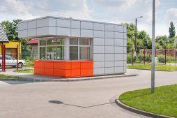 portiernia 2 - hala produkcyjno-magazynowa z budynkiem biurowym, dla Viva Plus, Bytom, woj. śląskie