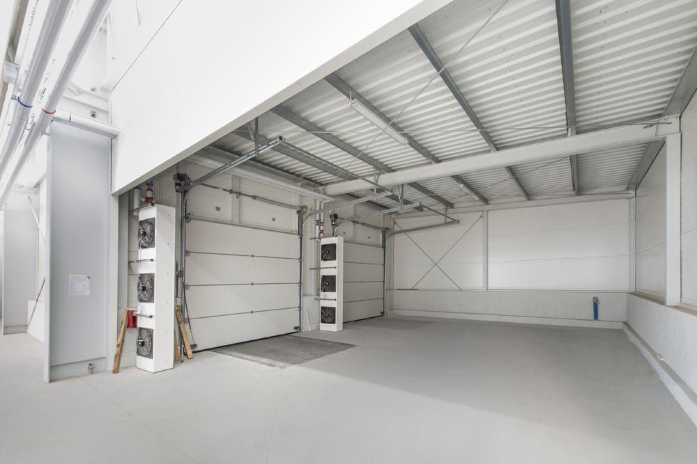 brama wyjazdowa - hala produkcyjna z częścią biurową, dla Leann Stańczyk, Słupsk, woj. pomorskie