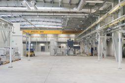 wnętrze hali 2 - hala produkcyjna, dla Rotox, Pokój, woj. opolskie