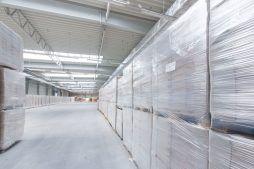 wnętrze hali - hala produkcyjna z budynkiem biurowym, dla Meblomaster, Węgrów, woj. mazowieckie
